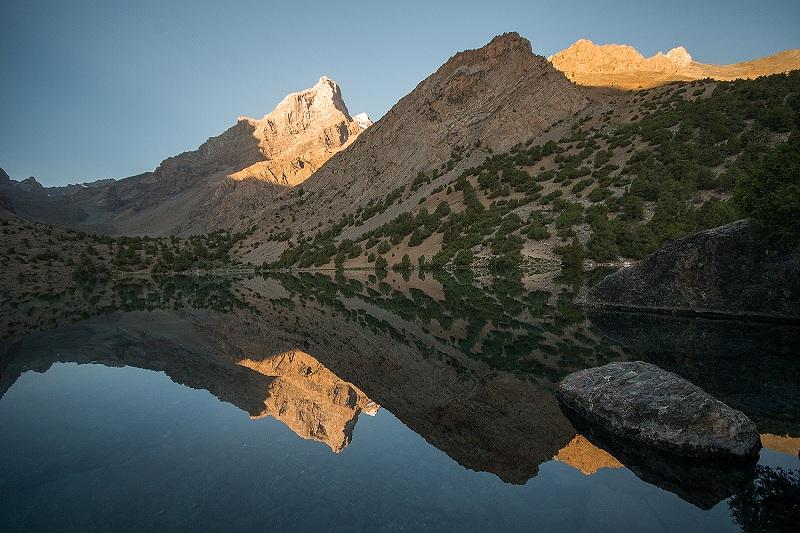 Alaudin lake_Fann mountains